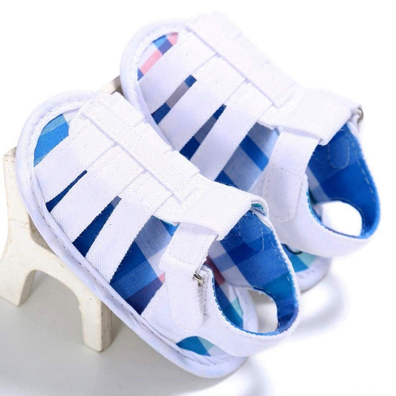 Baby-Infant-Kids-Girl-boys-Soft-Sole-Crib-Toddler-Newborn-Sandals-Shoes-E9T8 thumbnail 7