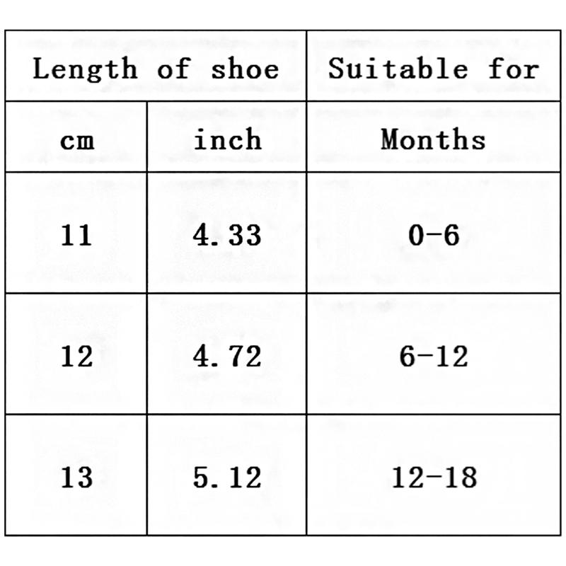 Baby-Infant-Kids-Girl-boys-Soft-Sole-Crib-Toddler-Newborn-Sandals-Shoes-E9T8 thumbnail 29