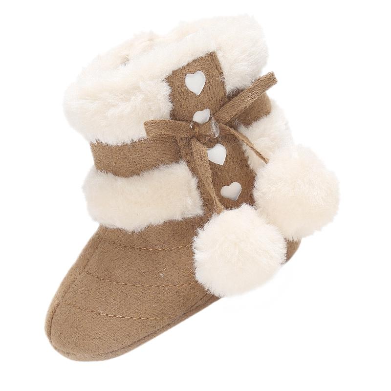 2X-Bottes-De-Neige-Pour-Fille-Enfant-Bambin-Bebe-Chaussures-Berceau-Chaussu-P3P7 miniature 15