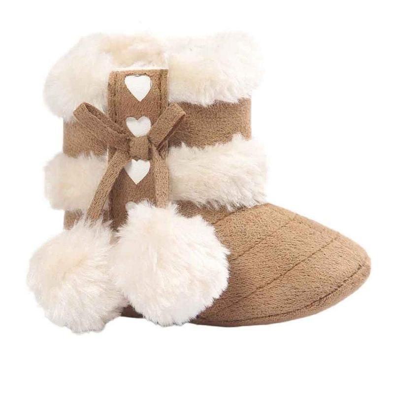 2X-Bottes-De-Neige-Pour-Fille-Enfant-Bambin-Bebe-Chaussures-Berceau-Chaussu-P3P7 miniature 17