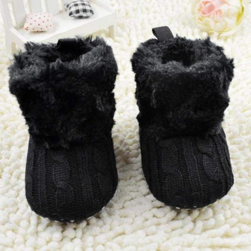 2X-Bottes-De-Neige-Pour-Fille-Enfant-Bambin-Bebe-Chaussures-Berceau-Chaussu-W3B2 miniature 4