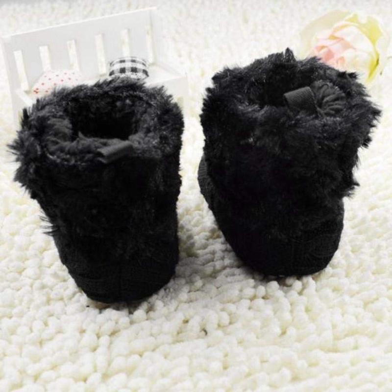 2X-Bottes-De-Neige-Pour-Fille-Enfant-Bambin-Bebe-Chaussures-Berceau-Chaussu-W3B2 miniature 7