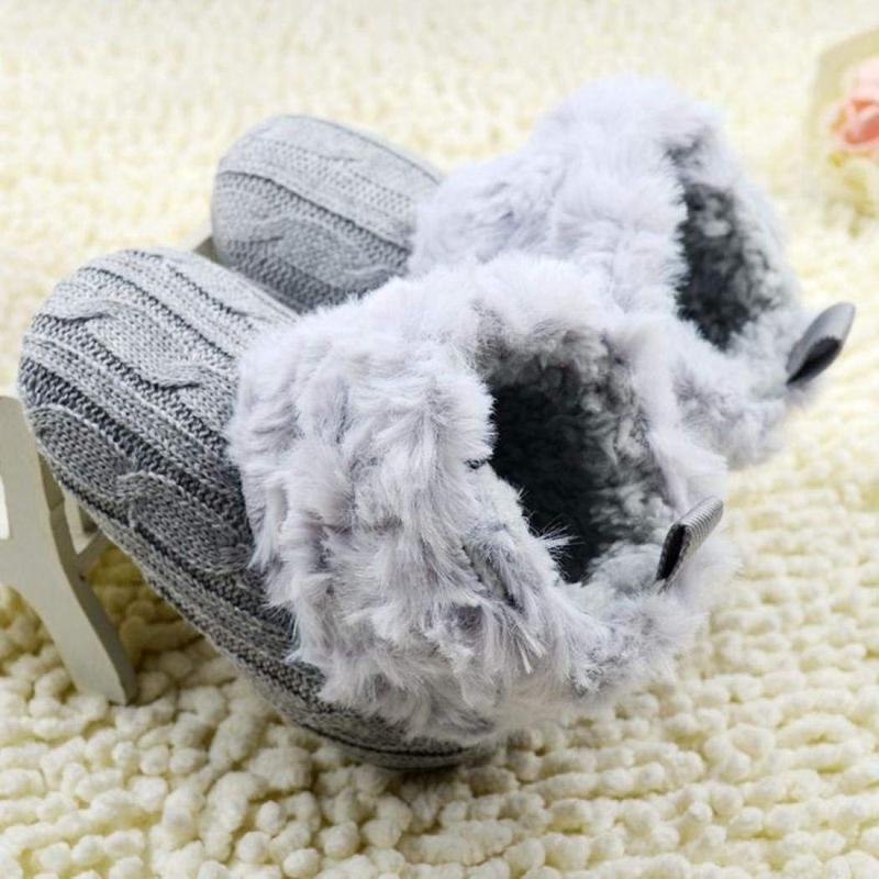 2X-Bottes-De-Neige-Pour-Fille-Enfant-Bambin-Bebe-Chaussures-Berceau-Chaussu-W3B2 miniature 10