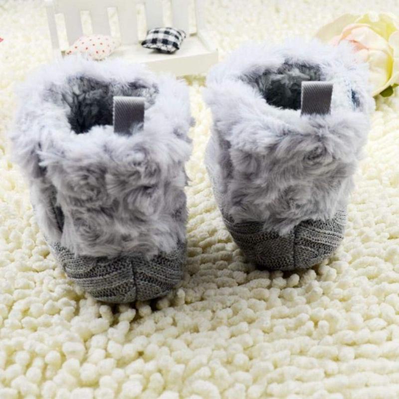 2X-Bottes-De-Neige-Pour-Fille-Enfant-Bambin-Bebe-Chaussures-Berceau-Chaussu-W3B2 miniature 11