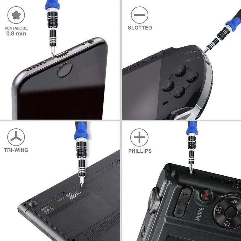 3X(86-In-1-Präzisions-Magnetschraubendreher-Set, Reparaturset Für Für Für Ipad, U1I5)   Stil    Die Qualität Und Die Verbraucher Zunächst    Fein Verarbeitet    Verschiedene Arten und Stile  a9c0df