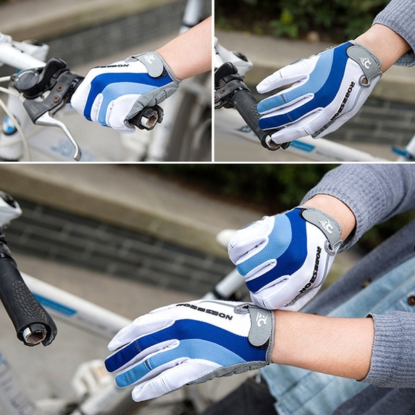 2X-Robesbon-2Pcs-Gants-De-Vtt-Gants-De-De-Cyclisme-Velo-Automne-Et-Hiver-De-H9S8 miniature 3