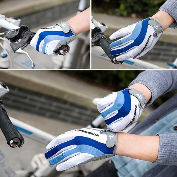 Robesbon-2Pcs-Gants-De-Vtt-Gants-De-De-Cyclisme-Velo-Automne-Et-Hiver-De-Sp-I6S5 miniature 3