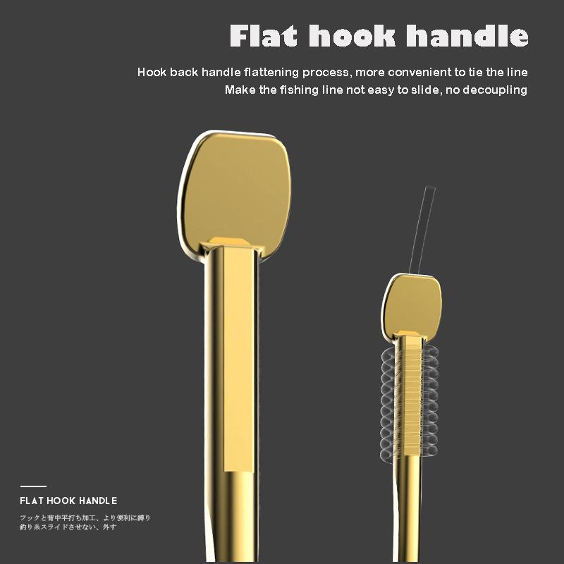 20Pcs-Fishing-Hooks-Fishing-Tackle-Durable-Fishhooks-Carp-Barbed-Hook-Ocean-C7Y3 thumbnail 9