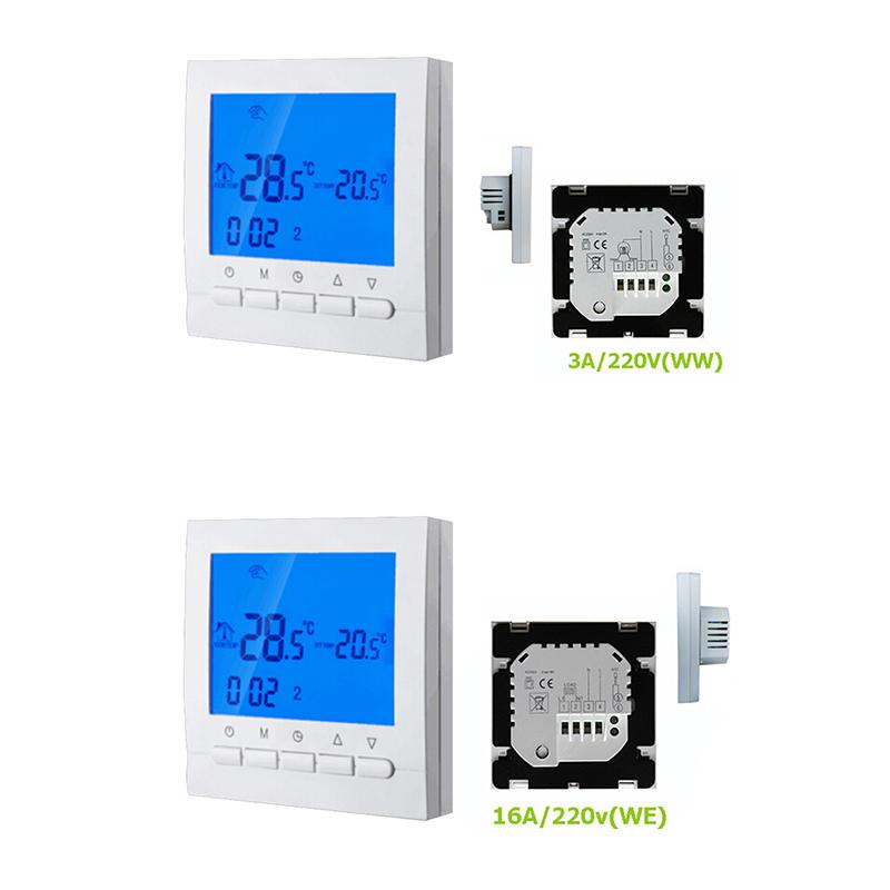 heizung thermostat f r warmer boden elektrisches. Black Bedroom Furniture Sets. Home Design Ideas