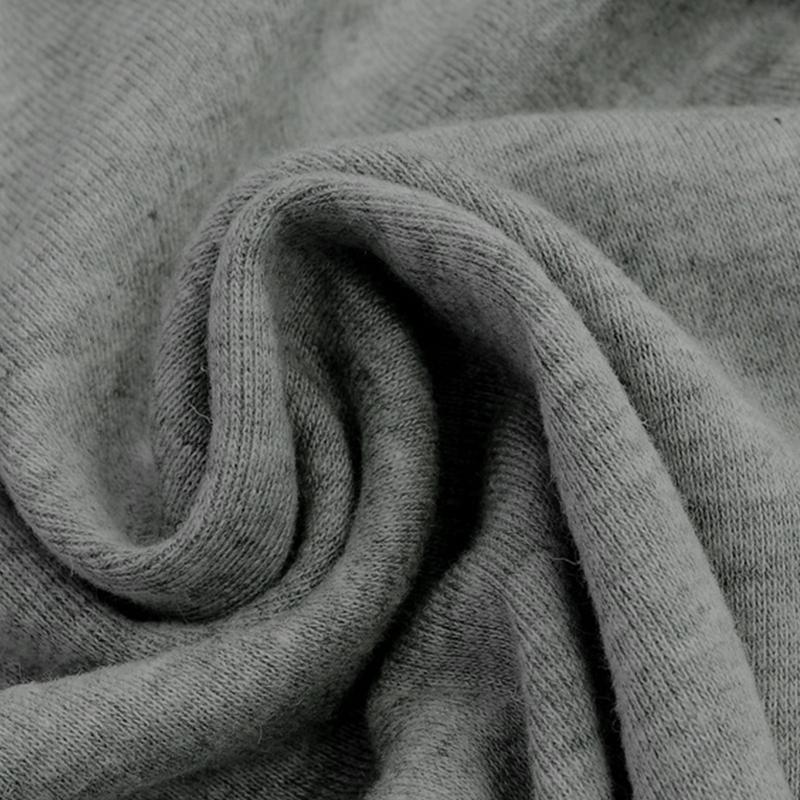 Chandail-Tricote-a-Longue-Manche-De-Couleur-Pure-De-Col-En-V-a-La-Mode-Pour-O3D9 miniature 5