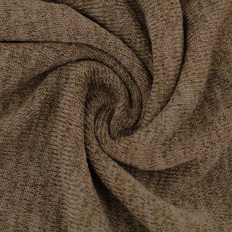Chandail-Tricote-a-Longue-Manche-De-Couleur-Pure-De-Col-En-V-a-La-Mode-Pour-O3D9 miniature 11