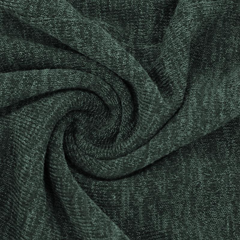 Chandail-Tricote-a-Longue-Manche-De-Couleur-Pure-De-Col-En-V-a-La-Mode-Pour-O3D9 miniature 17