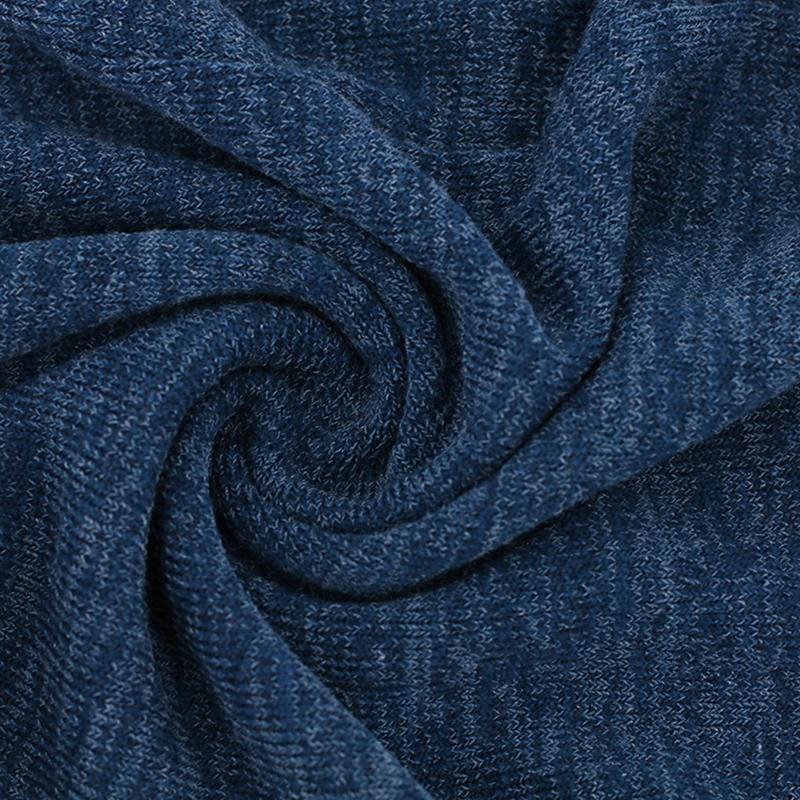 Chandail-Tricote-a-Longue-Manche-De-Couleur-Pure-De-Col-En-V-a-La-Mode-Pour-O3D9 miniature 24