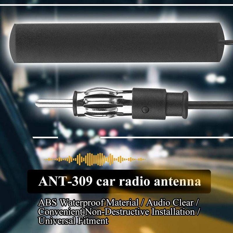 Antenne De Voiture Car Radio FM Patch Antenne Amplificateur Antenne Pare-Brise 5M C/âble Universel 5 ANT-309 Antenne Autoradio