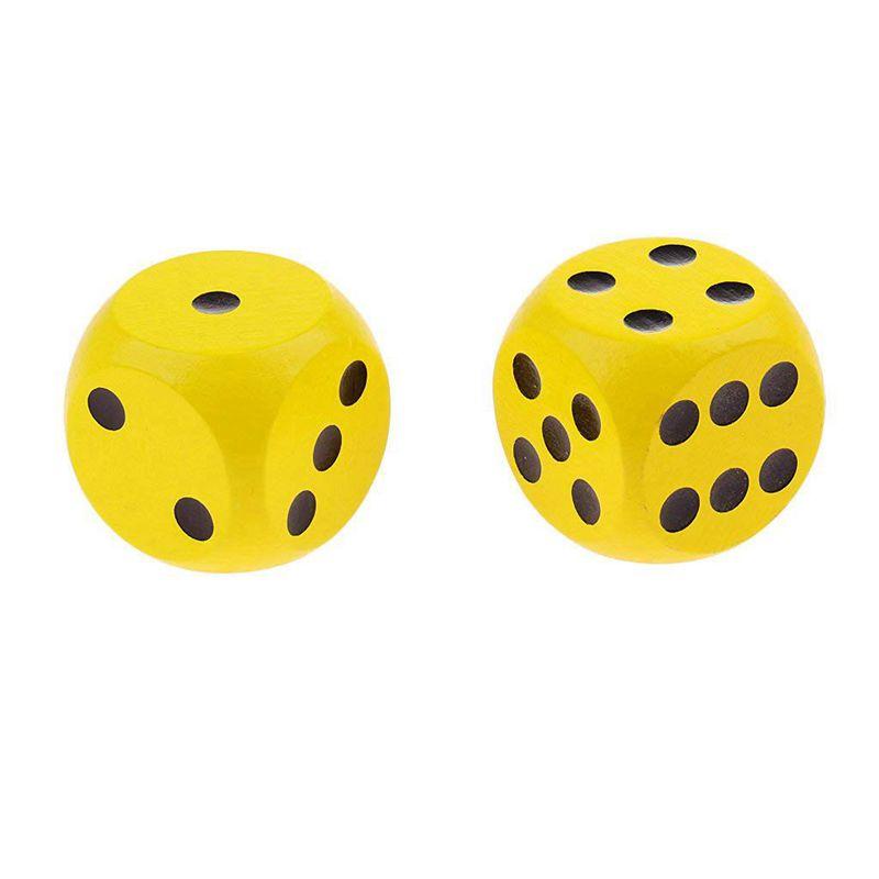 10-a-Six-Cotes-D6-Des-pour-Jeux-DE-Societe-Fait-DE-Bois-A1T8 miniature 20