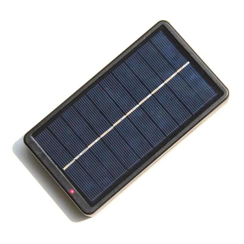 Nuevo Cargador Solar Portátil Para 18650 Baterías / Teléfonos Móviles...