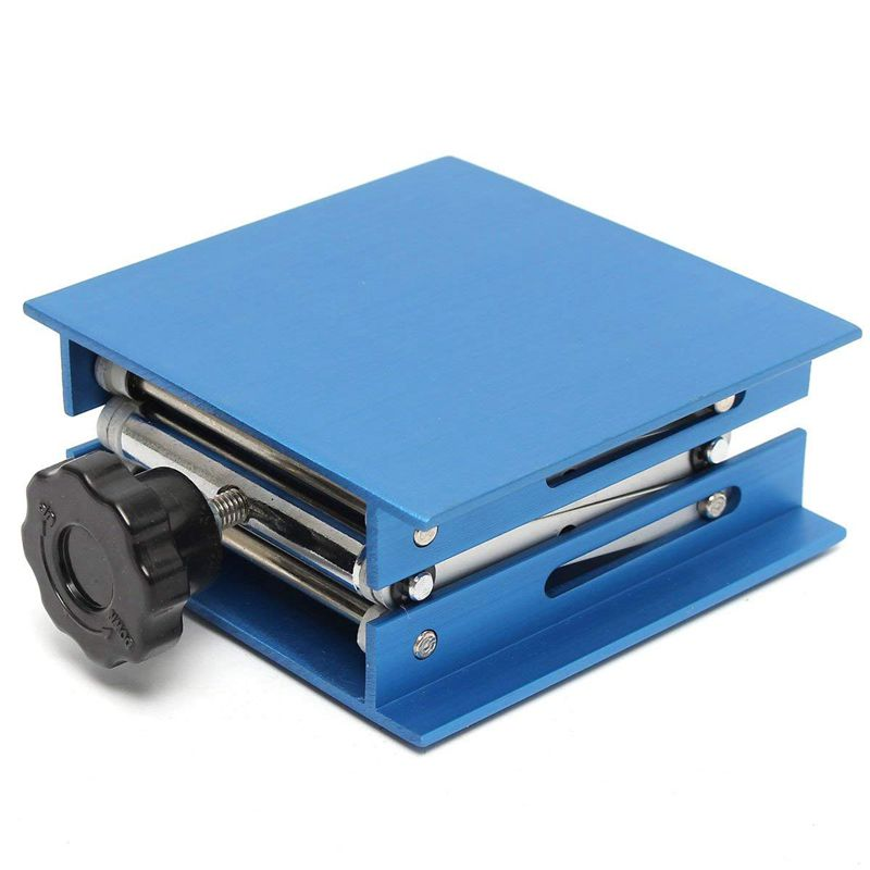 6inch-Aluminum-Lab-Lift-Lifting-Platforms-Stand-Rack-Scissor-Lab-Jack-150x1-Z3B1 thumbnail 4
