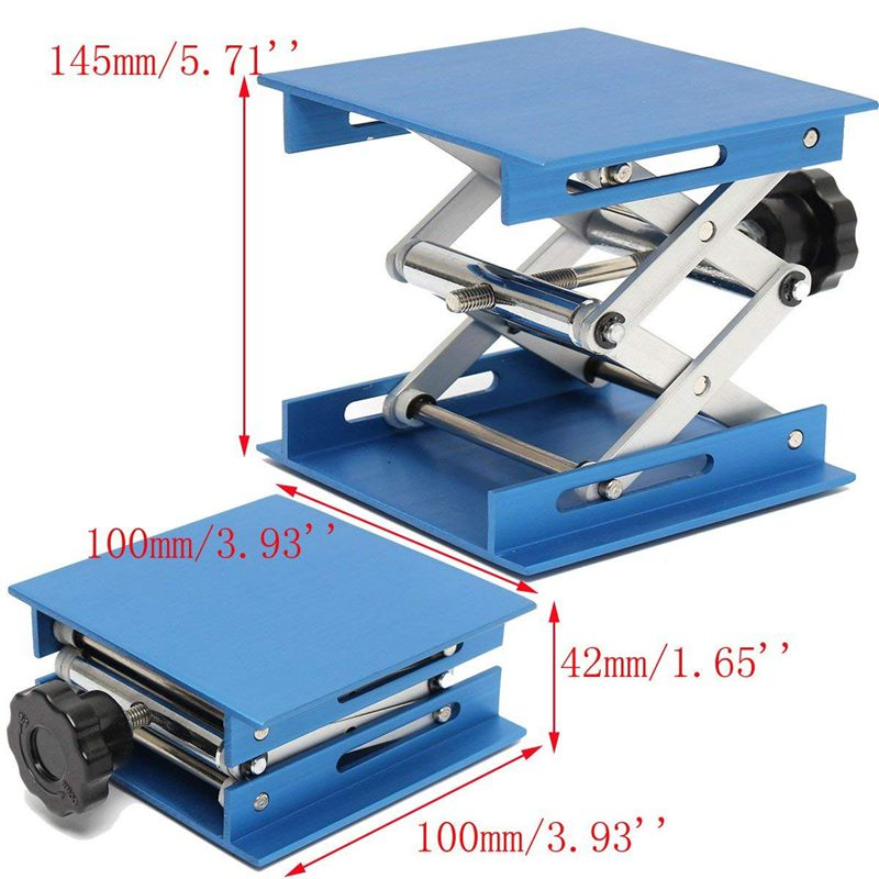 6inch-Aluminum-Lab-Lift-Lifting-Platforms-Stand-Rack-Scissor-Lab-Jack-150x1-Z3B1 thumbnail 5
