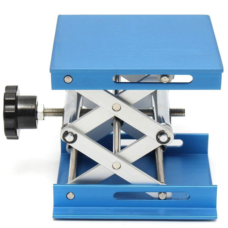 6inch-Aluminum-Lab-Lift-Lifting-Platforms-Stand-Rack-Scissor-Lab-Jack-150x1-Z3B1 thumbnail 6