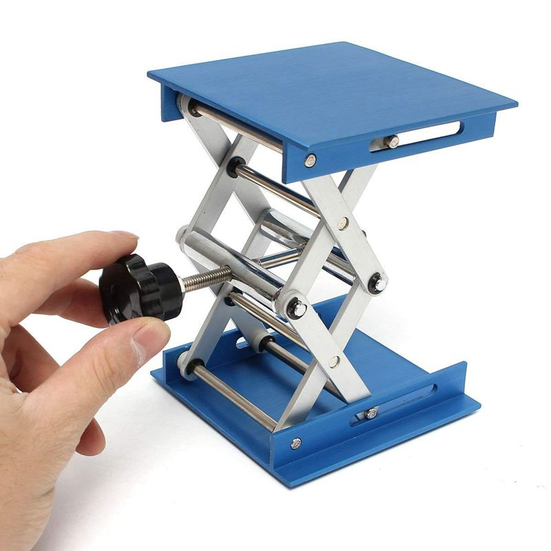 6inch-Aluminum-Lab-Lift-Lifting-Platforms-Stand-Rack-Scissor-Lab-Jack-150x1-Z3B1 thumbnail 7