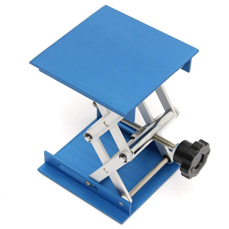 6inch-Aluminum-Lab-Lift-Lifting-Platforms-Stand-Rack-Scissor-Lab-Jack-150x1-Z3B1 thumbnail 8