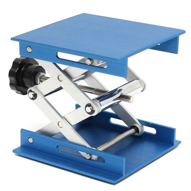 6inch-Aluminum-Lab-Lift-Lifting-Platforms-Stand-Rack-Scissor-Lab-Jack-150x1-Z3B1 thumbnail 9
