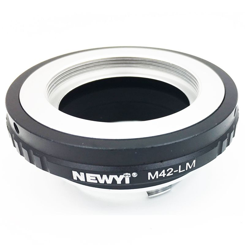 NEWYI M42LM adapter for M42 Lens to Leica M LM camera M9 with TECHART LME V8N5