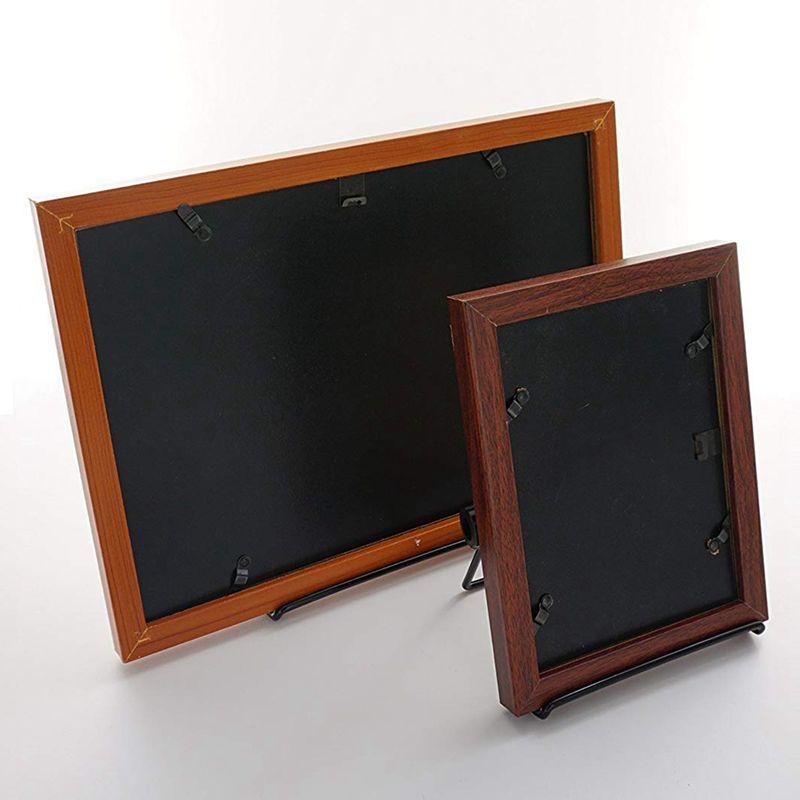 2-Pack-Adjustable-Display-Stand-Easel-Foldable-Tablet-Stand-Holder-Displays-Pi thumbnail 2