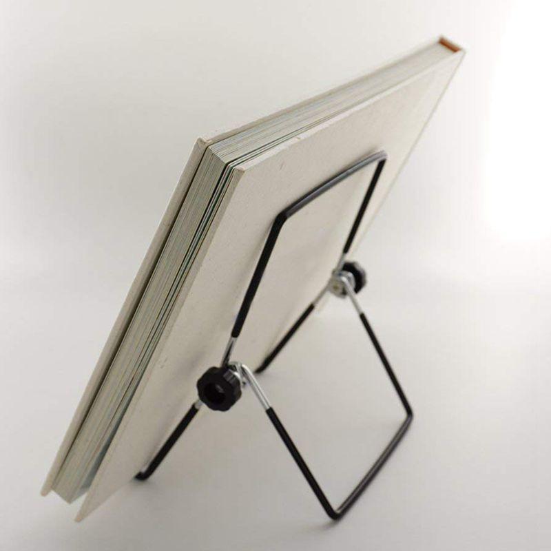 2-Pack-Adjustable-Display-Stand-Easel-Foldable-Tablet-Stand-Holder-Displays-Pi thumbnail 5