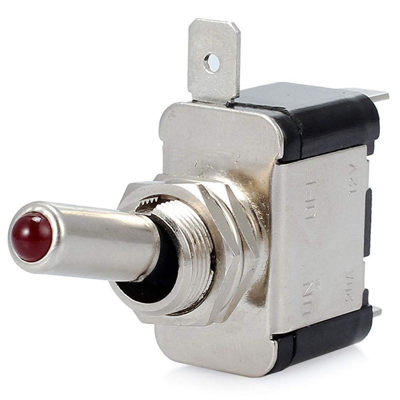 10 Piezas 12V 20A Interruptor De Palanca Basculante De Luz Led Interruptor S 4Z9 6