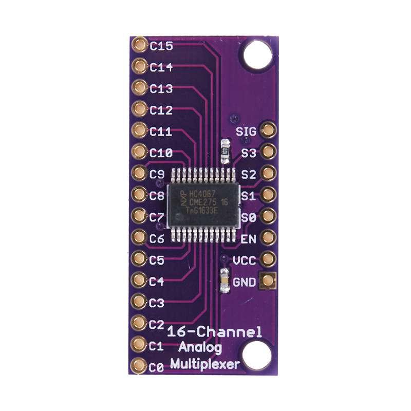image is loading cd74hc4067-cmos-16-ch-analog-digital-mux-breakout-