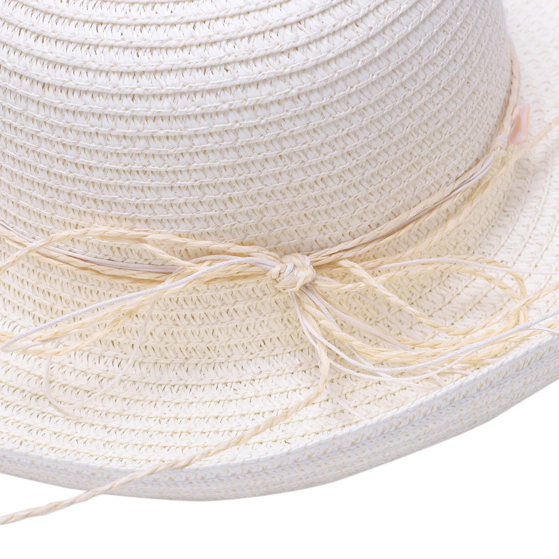 Chapeau-De-Paille-Chapeau-De-Plage-Chapeau-De-Soleil-Chapeau-D-039-ete-Pour-Les-2F6 miniature 17