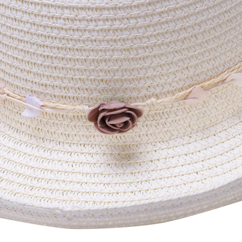Chapeau-De-Paille-Chapeau-De-Plage-Chapeau-De-Soleil-Chapeau-D-039-ete-Pour-Les-2F6 miniature 18
