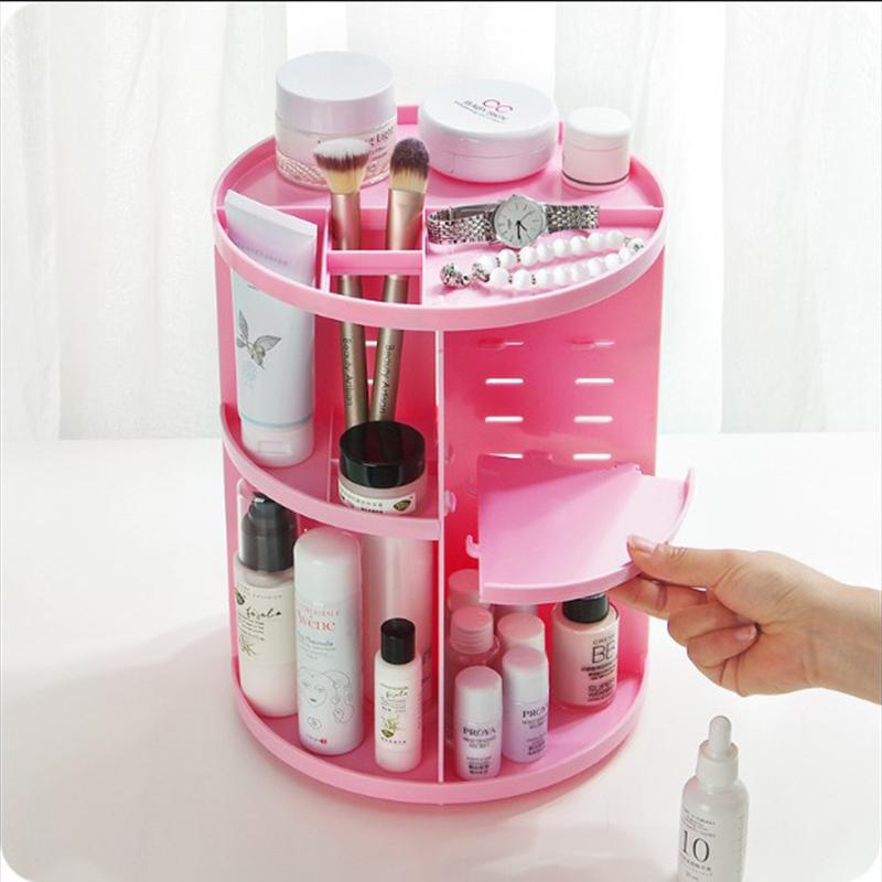 Caja-Organizador-de-Maquillaje-Giratorio-de-360-Grados-de-Moda-Sostenedor-d-C4S1 miniatura 6