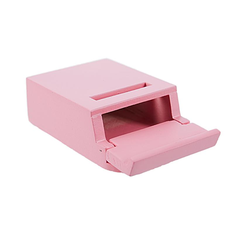 thumbnail 17 - 1-12-Wooden-Mailbox-Dollhouse-Miniature-Fairy-Garden-Decor-Blue-W9O9
