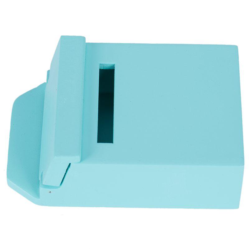 thumbnail 23 - 1-12-Wooden-Mailbox-Dollhouse-Miniature-Fairy-Garden-Decor-Blue-W9O9
