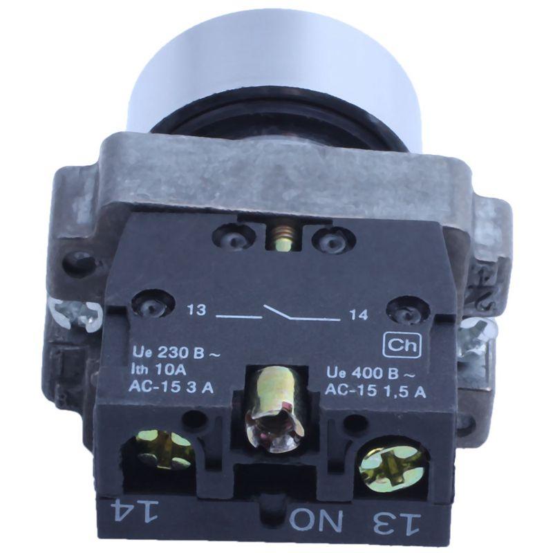 22 mm 1//N O Vert avec Interrupteur d/'allumage temporaire 600 V 10A ZB2-BA3311