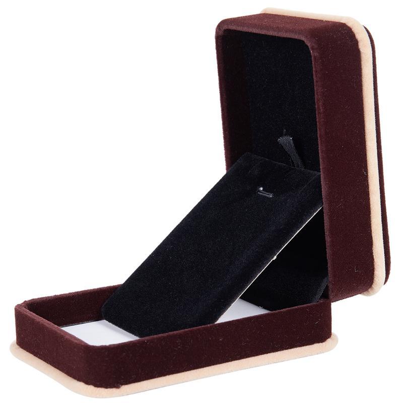 5X-Jewellery-Pendant-Bracelet-Necklace-Chain-Gift-Display-Box-V5J4 thumbnail 5