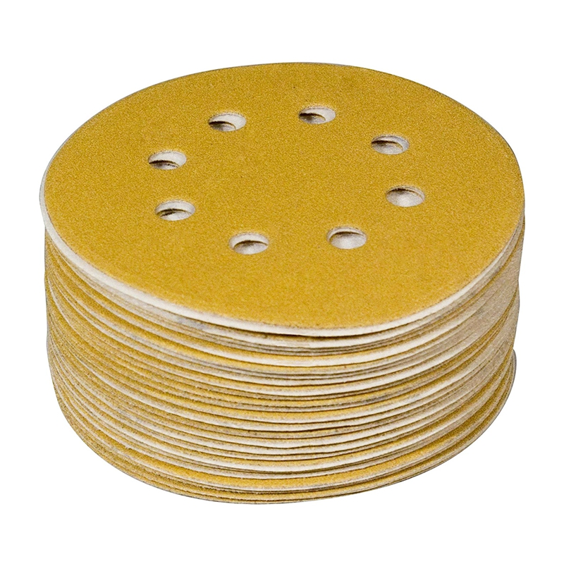 44022G-50-5inch-8-Hole-220-Grit-Hook-and-Loop-Sanding-Discs-Gold-50-Pack-WL