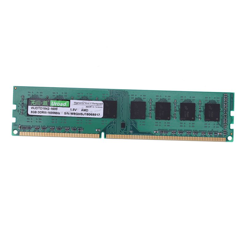 Uroad-DDR3-DDR3I-1600Mhz-RAM-Desktop-Memory-DIMM-Only-For-AMD-Computer-PC-D7D9 thumbnail 3