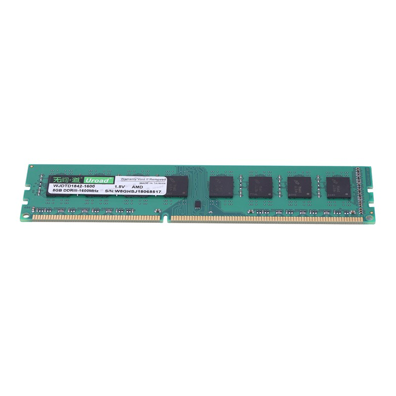 Uroad-DDR3-DDR3I-1600Mhz-RAM-Desktop-Memory-DIMM-Only-For-AMD-Computer-PC-D7D9 thumbnail 6