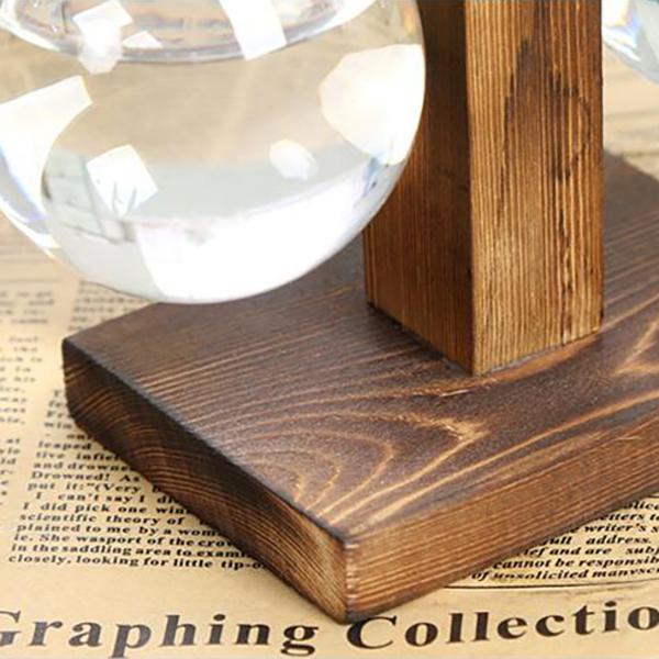 Vintage-Style-Glas-Desktop-Pflanze-Bonsai-Blume-Weihnachten-Dekoration-Vase-J5O5 Indexbild 6