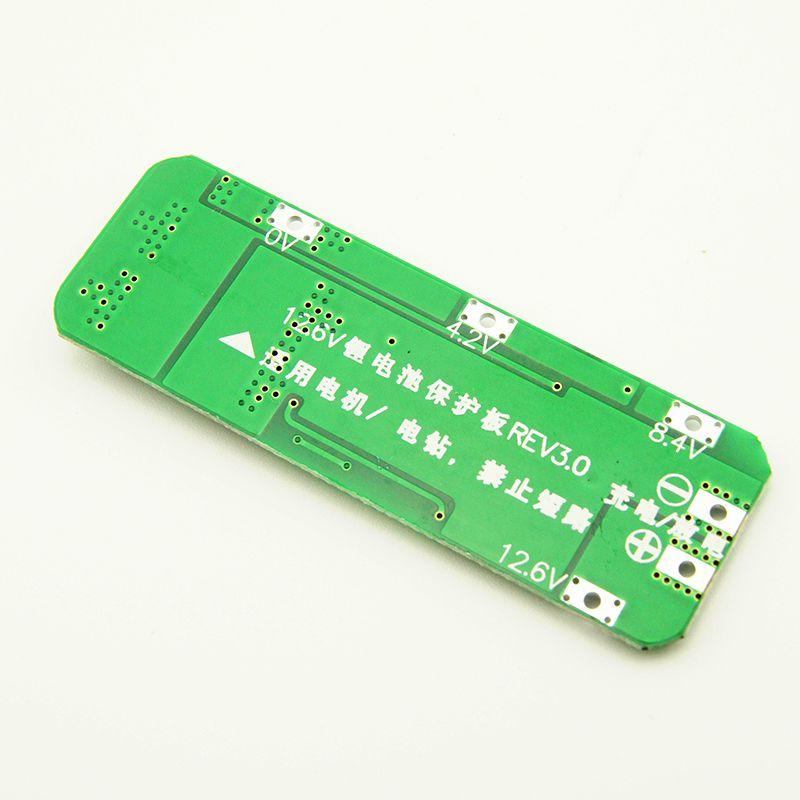2X 20A Li-Ion Lithium Batterie 18650 Ladegerät PCB BMS Schutz Platine 12,6 V 2E