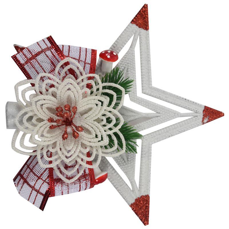 White-Christmas-Home-Door-Window-Ornaments-Christmas-Decoration-Xmas-Tree-H-T6A7 thumbnail 15