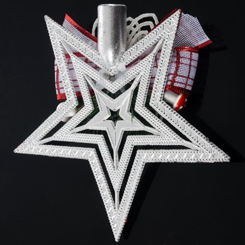 White-Christmas-Home-Door-Window-Ornaments-Christmas-Decoration-Xmas-Tree-H-T6A7 thumbnail 16