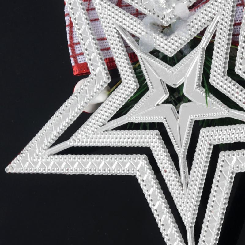 White-Christmas-Home-Door-Window-Ornaments-Christmas-Decoration-Xmas-Tree-H-T6A7 thumbnail 20