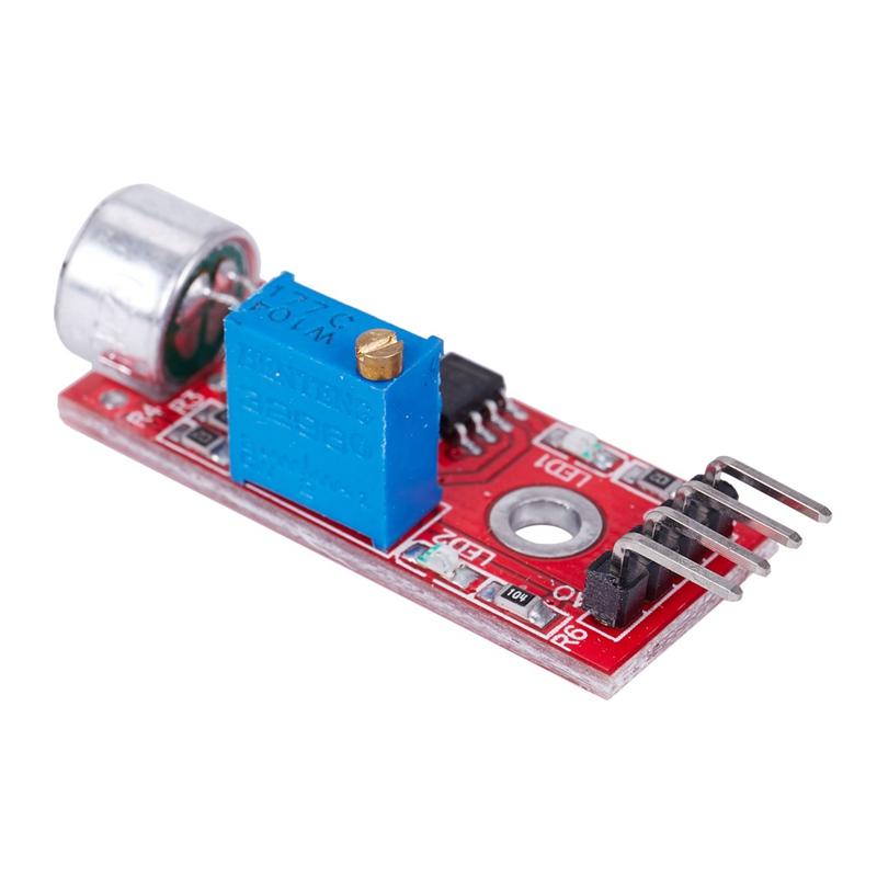 1-10Pc Microphone Sensor AVR PIC High Sensitivity Sound Detection Module Arduino