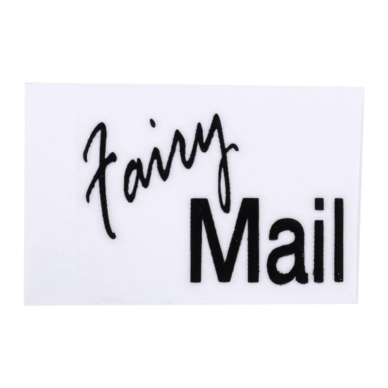 thumbnail 4 - 1-12-Wooden-Mailbox-Dollhouse-Miniature-Fairy-Garden-Decor-Blue-W9O9