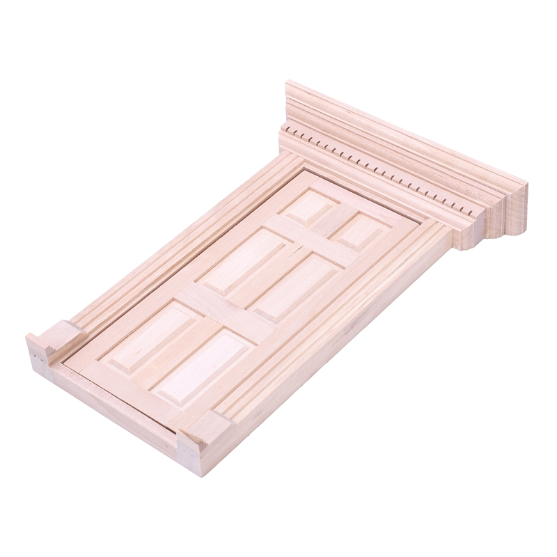 1-12-Scale-Wooden-Fairy-Front-Door-Dolls-House-Miniature-Accessory-K7W6 thumbnail 5