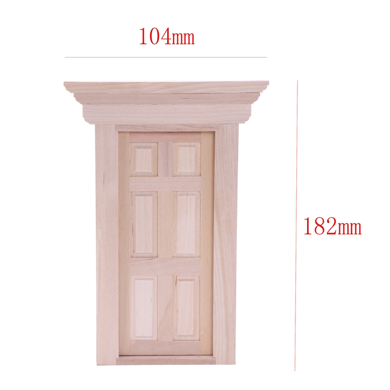 1-12-Scale-Wooden-Fairy-Front-Door-Dolls-House-Miniature-Accessory-K7W6 thumbnail 9